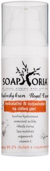 Soaphoria Royal Cream creme hidratante e iluminador para peles normais e sensíveis