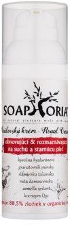 Soaphoria Royal Cream creme regenerador e nutritivo para pele seca e madura