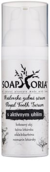 Soaphoria Royal Tooth Serum Dental Serum with Activated Charcoal for Gentle Teeth Whitening and Enamel Protection