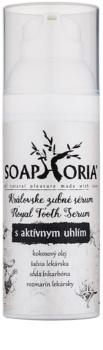 Soaphoria Royal Tooth Serum ser pentru dinți cu cărbune activ pentru albirea si protectia smaltului dentar