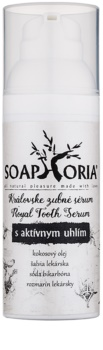 Soaphoria Royal Tooth Serum serum do zębów z węglem aktywnym do bezpiecznego wybielania i ochrony szkliwa