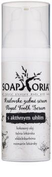 Soaphoria Royal Tooth Serum стоматологическая сыворотка с активированным углем для мягкого отбеливания и защиты зубной эмали
