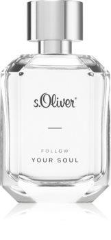 s.Oliver Follow Your Soul Men Eau de Toilette til mænd