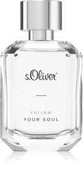 s.Oliver Follow Your Soul Men Eau de Toilette uraknak