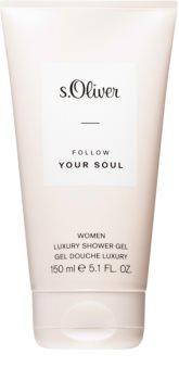 s.Oliver Follow Your Soul Women Luxurious Shower Gel for Women