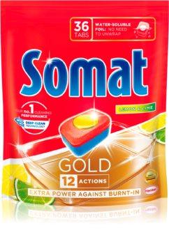 Somat Gold Lemon tablete pentru mașina de spălat vase