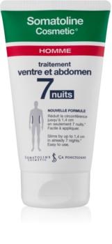 Somatoline Homme Nuit 7 shujševalna krema za trebuh in boke za moške