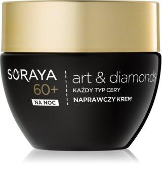 Soraya Art & Diamonds crème de nuit régénérante pour une régénération cellulaire