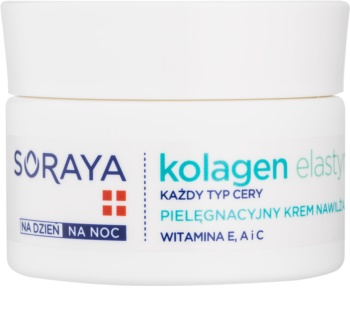 Soraya Collagen & Elastin хидратиращ крем  с витамини