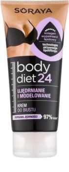 Soraya Body Diet 24 crema modellante per rassodare il décolleté