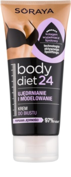 Soraya Body Diet 24 creme modelador  para firmeta de decote