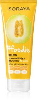 Soraya #Foodie Melon sorbet hydratant corps