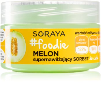 Soraya #Foodie Melon gel hydratation intense corps
