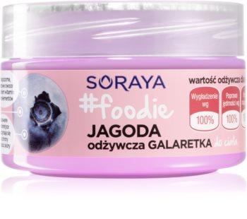 Soraya #Foodie Blueberry test gél tápláló hatással