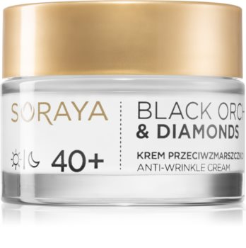 Soraya Black Orchid & Diamonds Face Cream with Anti-Wrinkle Effect