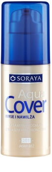 Soraya Aqua Cover base de maquillaje cubre imperfecciones con efecto humectante