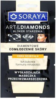 Soraya Art & Diamonds maschera lisciante effetto antirughe