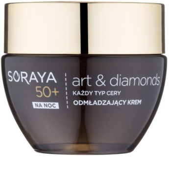 Soraya Art & Diamonds crema de noche rejuvenecedora con polvo de diamante