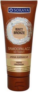 Soraya Beauty Bronze samoopaľovací krém na tvár pre svetlú pleť