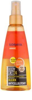 Soraya Body Diet 24 óleo hidratante de duas etapas anticelulite
