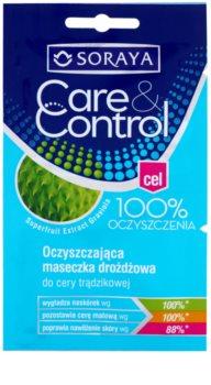 Soraya Care & Control Máscara facial de limpeza antiacne