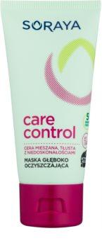Soraya Care & Control hĺbkovo čistiaca maska pre mastnú a problematickú pleť