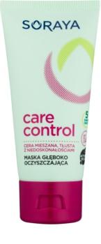 Soraya Care & Control máscara de limpeza profunda para pele oleosa e problemática
