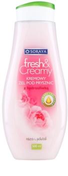 Soraya Fresh & Creamy gel de duche cremoso com efeito nutritivo