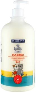 Soraya Family Fresh gel doccia e shampoo 2 in 1 per bambini