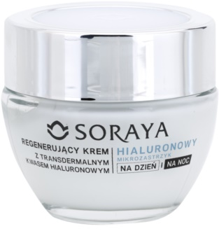 Soraya Hyaluronic Microinjection crema rigenerante con acido ialuronico