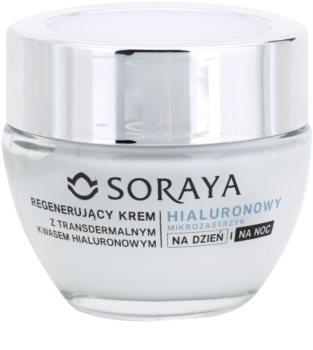 Soraya Hyaluronic Microinjection regeneráló krém hialuronsavval
