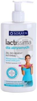 Soraya Lactissima gel de toilette intime pour les femmes actives