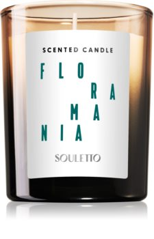 Souletto Floramania Scented Candle Tuoksukynttilä