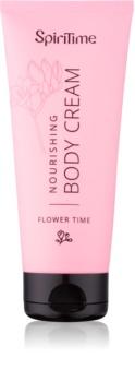 SpiriTime Flower Time výživný tělový krém 200 ml