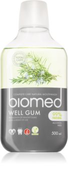 Splat Biomed Well Gum Mondwater voor Geirriteerd Tandvlees  met Essentiele Olieën