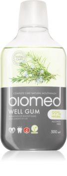 Splat Biomed Well Gum Mundwasser für gereiztes Zahnfleisch mit ätherischen Öl