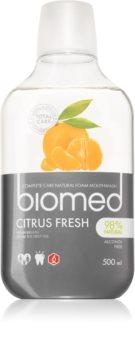 Splat Biomed Citrus Fresh apă de gură pentru o respirație proaspătă de lungă durată