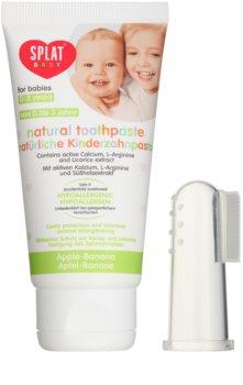 Splat Baby натуральная зубная паста для детей с массажной щеткой