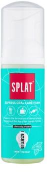 Splat 2 in 1 Mint пена для полости рта 2в1 для чистки зубов и десен без зубной щетки и воды