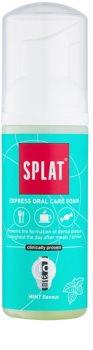 Splat 2 in 1 Mint espuma bucal 2 em 1 para limpeza dos dentes e gengivas sem escova e água