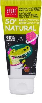 Splat Junior So' Natural Tandkräm för barn 6-11 år