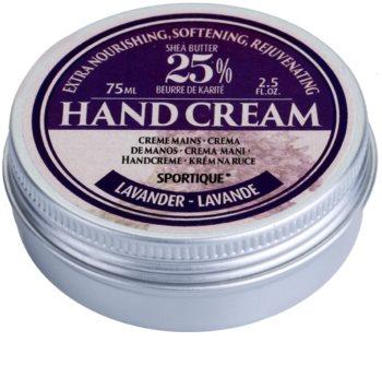 Sportique Wellness Lavender výživný krém na ruce