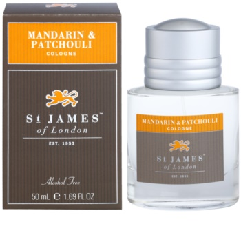 St. James Of London Mandarin & Patchouli agua de colonia para hombre 50 ml