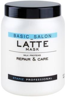 Stapiz Basic Salon Latte máscara com proteínas de leite