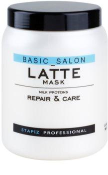 Stapiz Basic Salon Latte maska s mléčnými proteiny