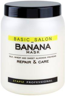 Stapiz Basic Salon Banana mascarilla reparación para cabello maltratado o dañado