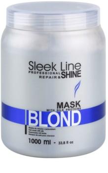 Stapiz Sleek Line Blond máscara para cabelo loiro e grisalho