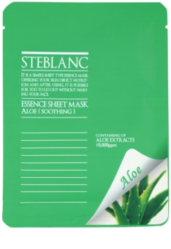 Steblanc Essence Sheet Mask Aloe mascarilla facial calmante