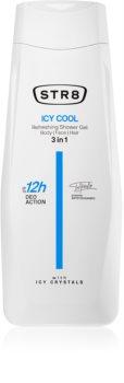 STR8 Icy Cool sprchový gel pro muže