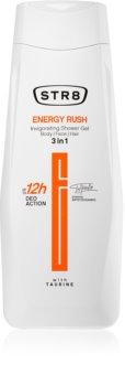 STR8 Energy Rush gel de duș pentru bărbați